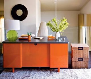 橙色婚房装饰 打造不同的浪漫
