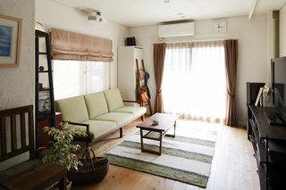 12款小户型质雅居  实用舒适日式客厅