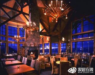 褐色另类风格餐厅