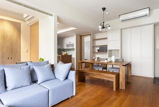 优雅时尚 日式风简约客厅