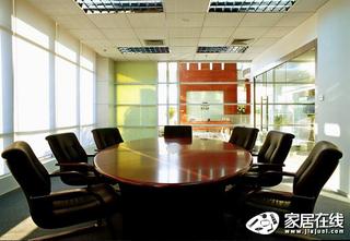 庄典装饰黑色现代风格会议室