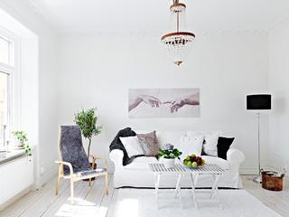 樱花树下的美妙小公寓 清新优雅60平米