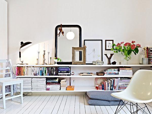 40平简洁靓丽小户型单身公寓