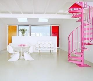6种室内楼梯设计 创意有个性而且合理