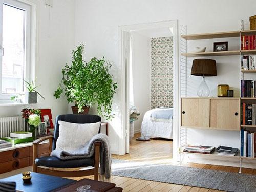 北欧风与日式混搭小户型公寓