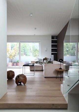 北欧日式风混搭 橡木地板打造舒适家居