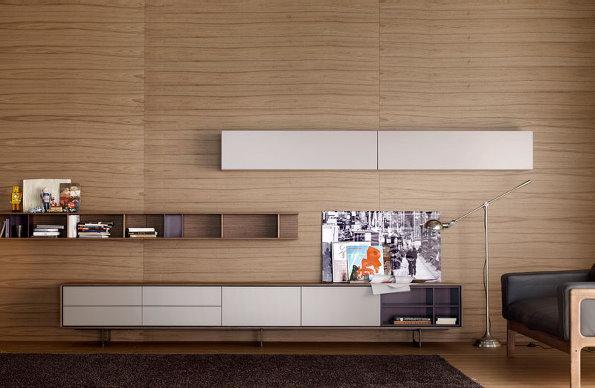 11款简约质朴的电视柜 低调的时尚范图片