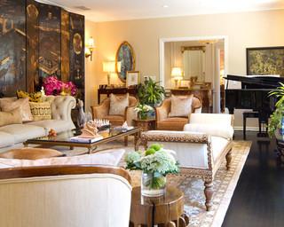美式风格的中式古典美 混搭家居风欣赏