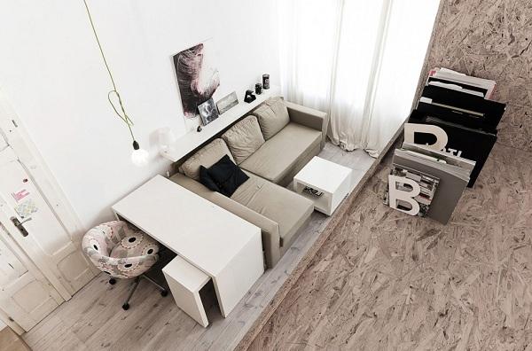 波兰29平方米公寓设计 小户型值得借鉴