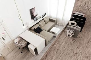 波兰29平方米公寓设计 小户型值得借鉴1/5