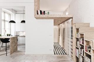 波兰29平方米公寓设计 小户型值得借鉴3/5