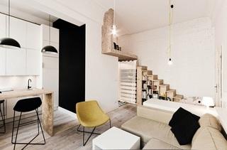 波兰29平方米公寓设计 小户型值得借鉴5/5