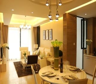 70平米的两室一厅 温馨精致的小户型家