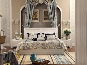 卧室就应该简约清爽 现代风格白色卧室