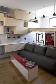 讓你大吃一驚的公寓 巴黎16平米微公寓