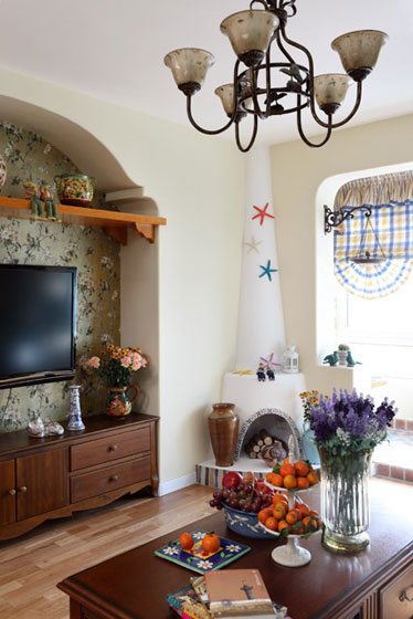 地中海风格温馨婚房家居图片