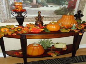 30個秋天風格餐廳裝飾