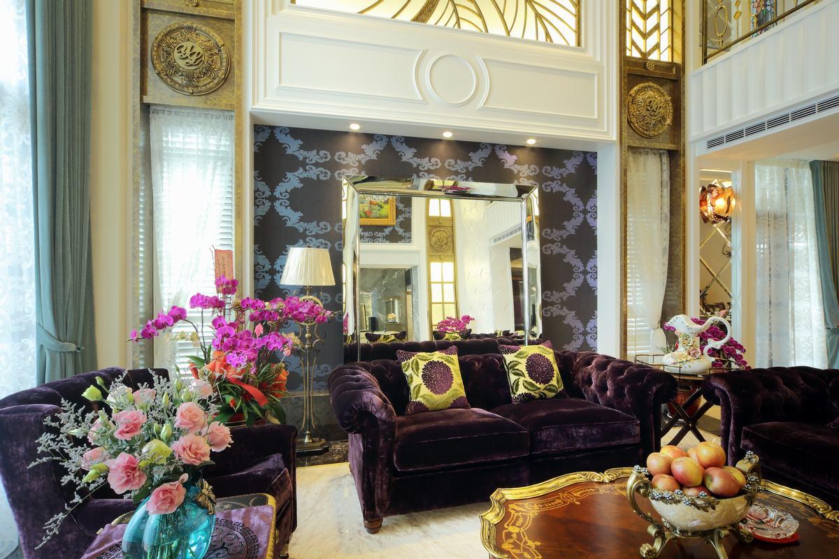 别墅装修,奢华,欧式风格图片