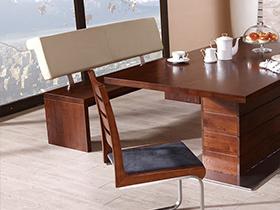 现代实木餐桌 人性的设计极致体现