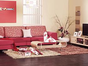 巧妙搭配玩转时尚 曲美现代简约客厅沙发