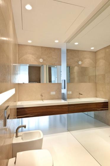 欧式风格公寓浪漫白色卫浴间瓷砖设计