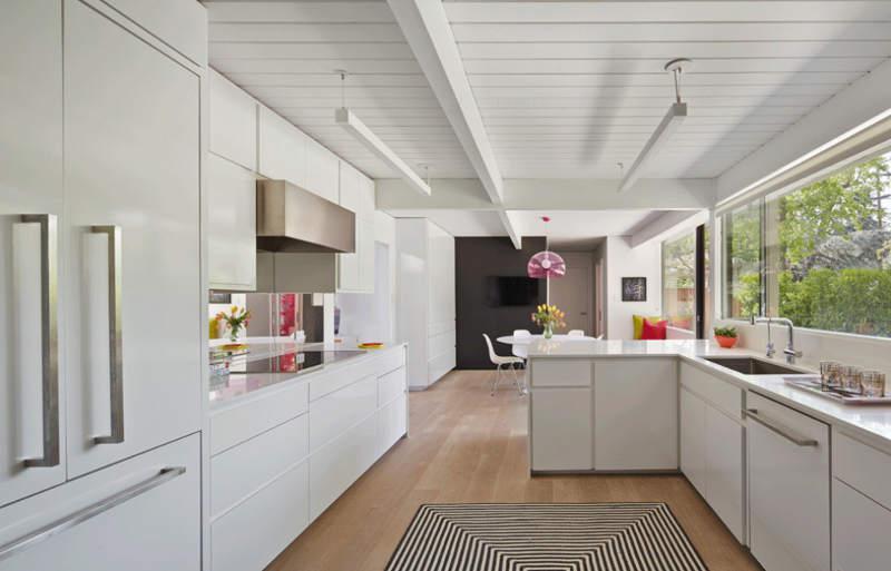 现代简约风格时尚厨房海外家居