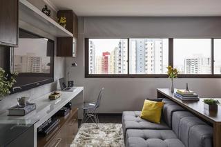 增加爱人之间的亲密感  巴西30平米小户型公寓