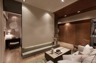 自然质朴的情调 台湾日式风格一居室