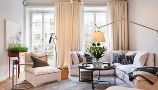 利用灯光打造的温馨 瑞典现代风格公寓