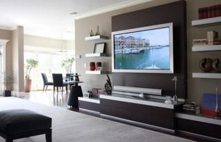 国外流行的13款电视背景墙 简约有创意