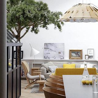 时尚阁楼 玻璃厨房现代欧式