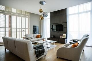 橡木地板简约家居设计 低调奢华不过时