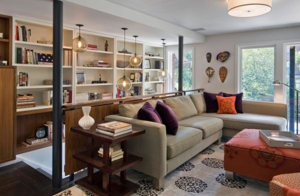 唯美紫色家居装修设计