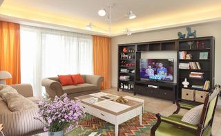 温馨风格的家居装修 139平米的混搭公寓