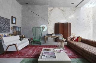 艺术家为自己设计的房子 生活充满新意