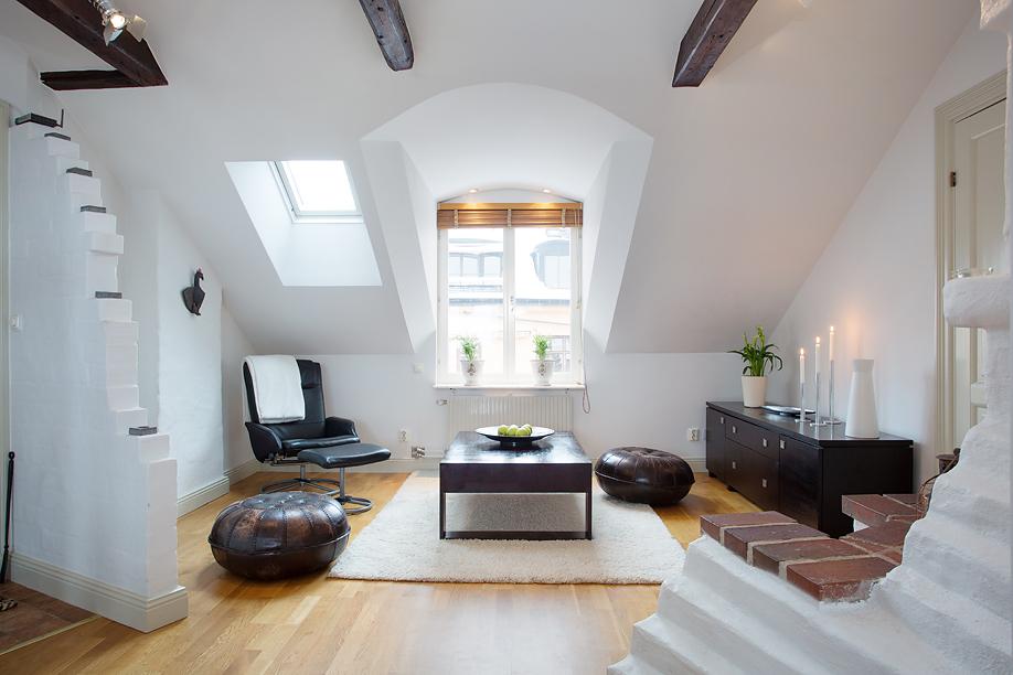 小空间的装修方案 阁楼也能装出花