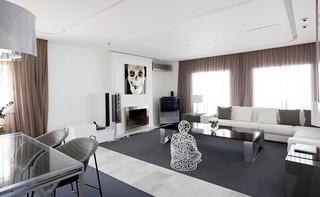 可当成艺术品的家 马德里现代时尚住宅