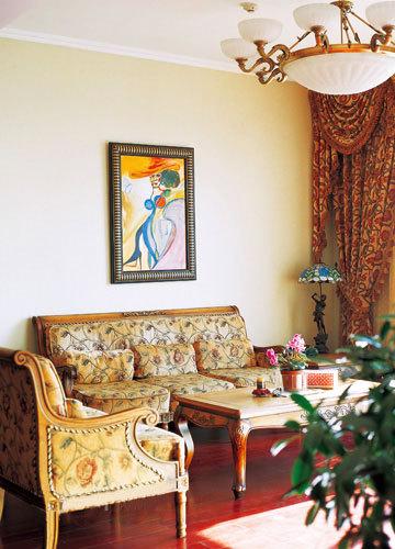 浪漫的装修风格 唯美客厅家具设计推荐