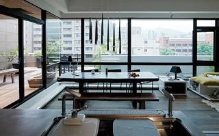 通透的复式之家 来自台北的现代风装修