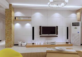12款现代电视背景墙案例 各种样式风格