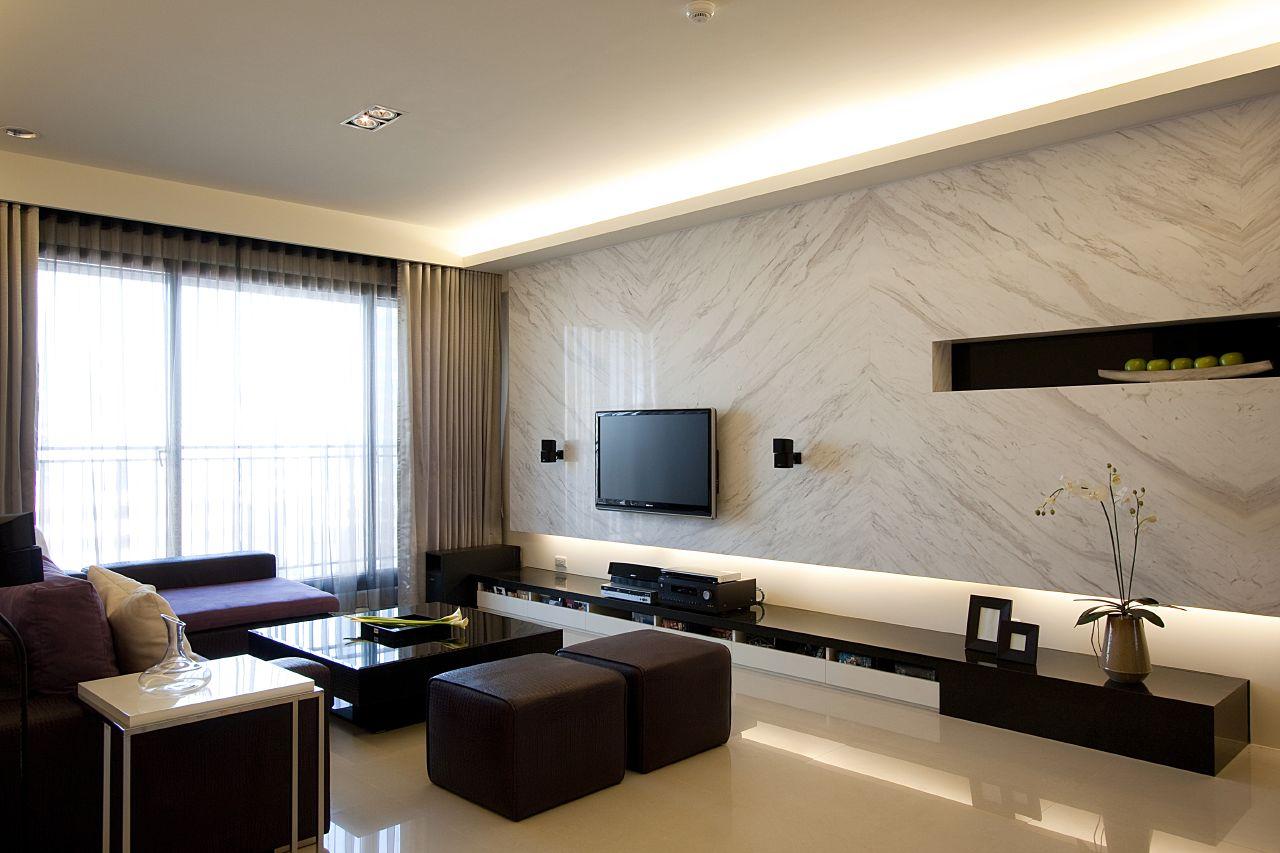 In Tv In Living Room