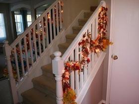 30個秋天風樓梯裝飾靈感