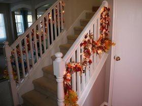 30个秋天风楼梯装饰灵感