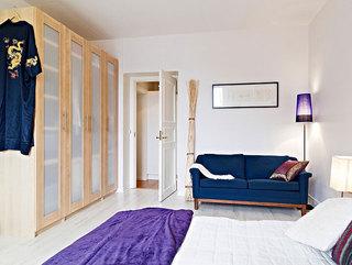 88平简约色彩搭配 一室一厅混搭的美好