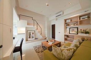 大户型复式家居客厅效果图