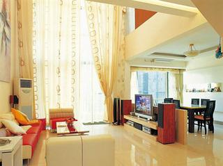 各类米黄客厅装修 不一样的颜色风格