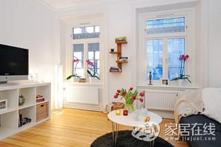 北欧风格简约派装修 小空间也有纯净感觉