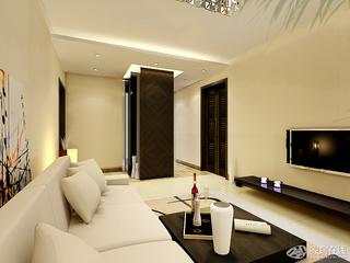简洁欧式客厅装修