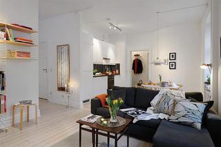 40平方米温馨北欧风格小户型公寓
