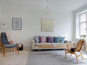 青春气息洋溢的北欧温馨舒适公寓